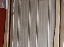أبواب WPC بتقنية الخشب البلاستيكي ضد الماء والعثه وأبواب خشب اقتصادية