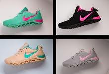 حذاء نايك الرائعة والجميل بالوانه الجذبه