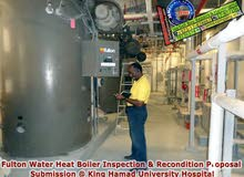 Boiler Inspection, Maintenance, Retrofit & Recondition Services in Bahrain