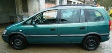 For sale 2001 Green Zafira