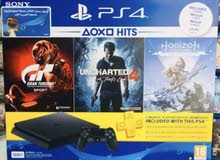 PlayStation 4 500GB + 3 Games + 3 Months psn plus