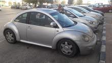 Silver Volkswagen Beetle 2000 for sale