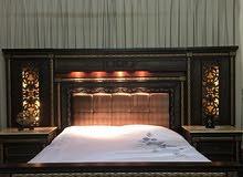 غرفه نوم جديده استعمال بسيط جداً