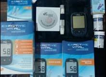جهاز قياس مستوى السكر في الدم