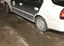هونداي فيرنا ماشيه 166كيلو تاكسي السياره النضيفه تبي من يسوق بس المحرك100% ا