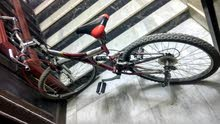 excellent condition bicycle with new tyre and tube. stubborn new peddle.