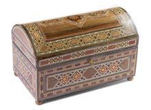 صندوق خشبي موزاييك