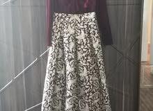فستان للمحجبات لبس مرة واحدة فقط مقاس ميديم