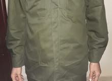 بدلة عسكرية جديد لون اخضر
