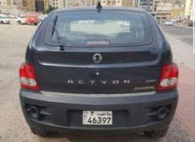 SsangYong Actyon car is available for sale, the car is in Used condition