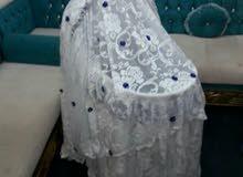سرير أطفال ماركة من بي بي شوب مع بعض الأضافات ب50ر