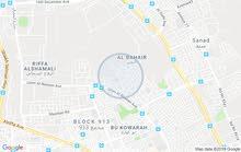 للبيع أرض سكنية في سند ،شارعين وزاوية