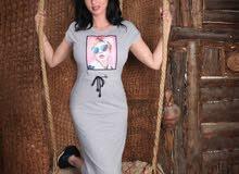 فستان قطن