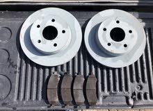 MOPAR Chrysler Aspen DODGE DURANGO RAM 1500 Front Brake Kit (pads and rotors)