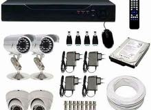 كاميرات مراقبة بجودة عالية وأسعار منافسة (HIKVISION)