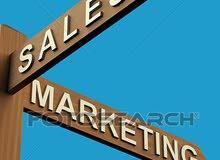 مطلوب موظفة تسويق ومبيعات