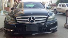 مرسيدس  c300موديل 2013 اللون أسود استراد أمريكا