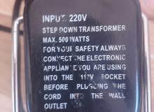 محولات كهرباء من 220 الى 110 للبيع ( امريكي)