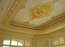 أصباغ - رسم على الأسقف والجدران- ديكور- تنفيذ شلالات منحوتة وأفران- اسعار رخيصة