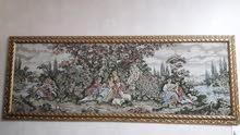 لوحة كبيرة مطرزة ب 200ريال