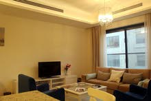 Second Floor  apartment for rent with 2 rooms - Amman city Swefieh