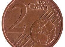 Ve République, 2 Centimes d'Euro fauté