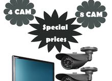 Installing CCTV systems كاميرات المراقبة