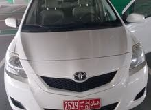 TOYOTA YARIS WHITE AVAILABLE FOR RENT