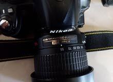 كاميرا نيكون 3100 مستعمل نضيف