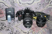 Nikon 3200 with 2 lens for slae