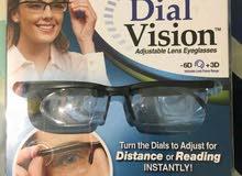 DIAL VISION نضارة تعديل النضر دون الحاجة لطبيب