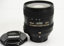 عدسة Nikon 24-85 vr