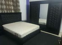غرفة نوم  مع فرشه أسفنج ضغط عالي