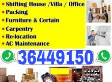 HOUSE OFFICE STORE SHIFTING PROFESSIONAL CARPENTER