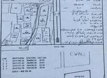 ارض سكني تجاري مساحة 808متر في الاشخرة