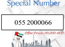 055 X 0000 66 Du VIP Number