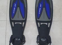 SCUBAPRO Fins ( S size , Blue )