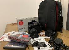 Canon 7D mark2 + lens 18-55