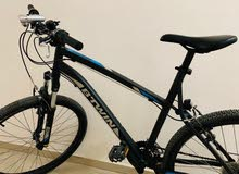 Btwin bicycle with accessories for sale