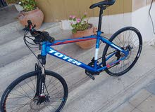 For sale hardtail semi hybrid MTB 26in bike adults frame in great conditionUni