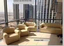 طقم كنب جديد بتكلفة منخفضة sofa set for sale brand new in low cost couch for sale