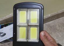 كشافات LED تعمل بالطاقة الشمسيه