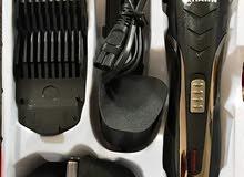 ماكينة حلاقة الشعر والدقن من Krawn قابلة لإعادة