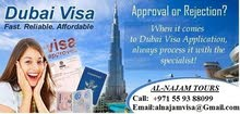 UAE (DUBAI ) VISIT/TOURIST/ BUSINESS VISA