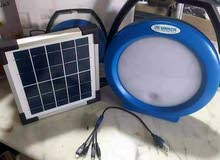 بلجكتور مع لوح طاقة شمسية
