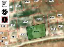 قطعة أرض 642م² على شارعين في مدينة المفرق قريبة على السوق