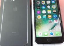 للبيع ايفون 7 بلاس أسود