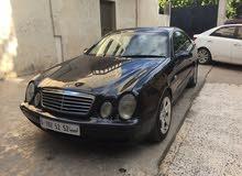 Blue Mercedes Benz CLK 320 2002 for sale