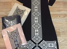 فستان صوف تركي طويل