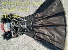 فستان جديد مقاس 38 تول مطرز راقي من بريطانيا